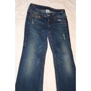 Like new True Religion Heidi jeans size 27